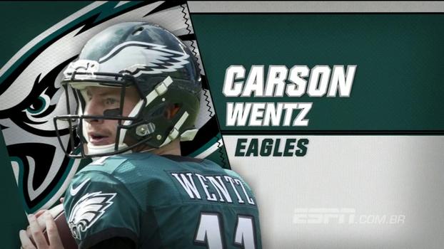 Paulo Antunes: 'O Carson Wentz tem tudo para evoluir rapidamente e se tornar um dos ótimos QBs da NFL'
