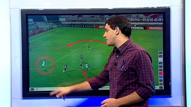 Rafa analisa movimentações ofensivas em Santa Cruz x Atlético-MG