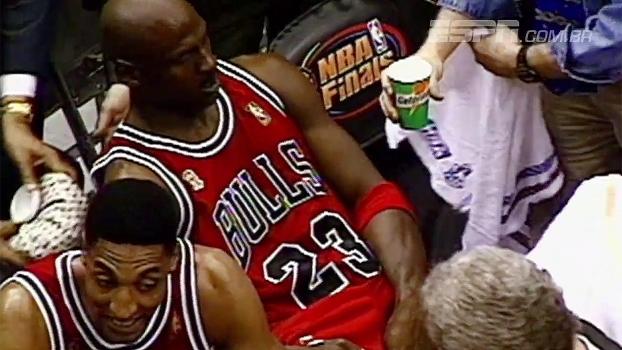 Há 20 anos, Michael Jordan superava gripe para brilhar com 38 pontos no jogo 5 das Finais da NBA; relembre