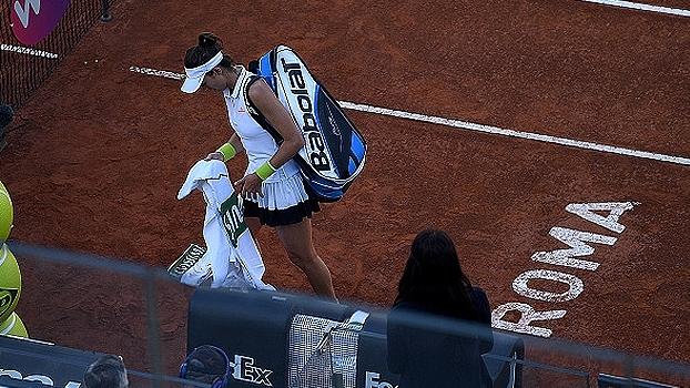 Garbine Muguruza abandona semifinal em Roma e Elina Svitolina está na final
