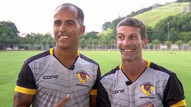 Amigos de longa data, Felipe e Pedrinho se juntam no comando do Tigres no Carioca