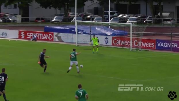 Brasileiro brilha no futebol da Estônia; veja os gols