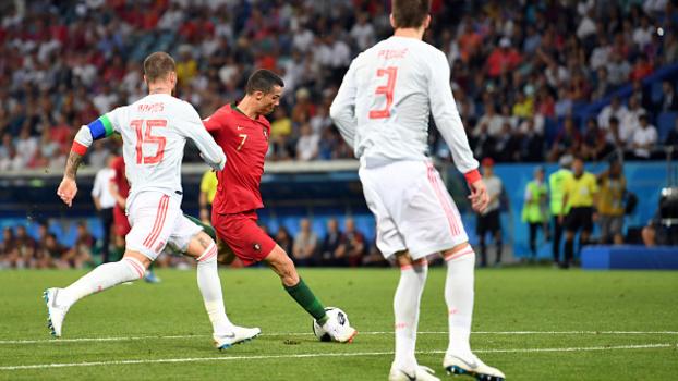 Espanha x Portugal duelaram em Sochi e ficaram no 3x3 86c16be2606d1