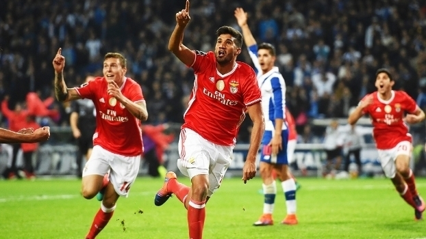Português: Gols de Porto 1 x 1 Benfica