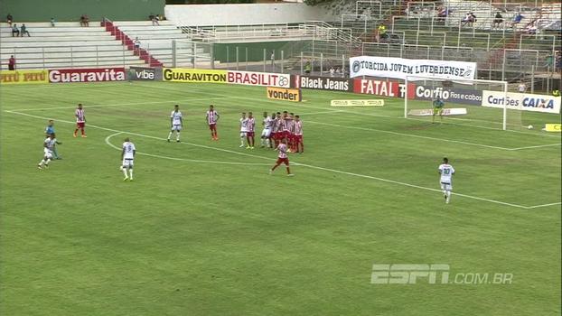 Veja os gols de Luverdense 3 x 0 Náutico