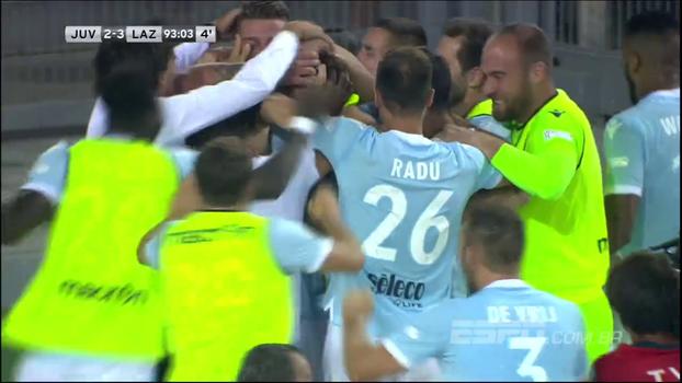 Supercopa da Itália: Gols de Juventus 2 x 3 Lazio