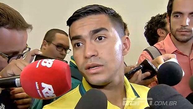 Dudu lamenta derrota: 'Não fizemos por onde fazer o gol'