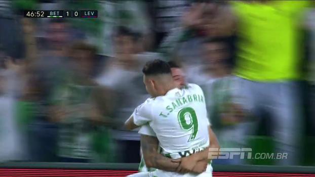 Confira os melhores momentos de Real Betis 4 x 0 Levante
