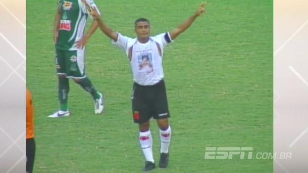 Na corrida pelo gol mil, Romário fez três e Vasco enfiou seis no Boavista em 2007