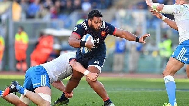 França vence lanterna Itália, assume 3º lugar e mantém esperança de título no 6 Nations de rugby