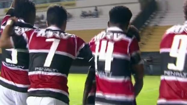 Série B: Gols de Criciúma 1 x 2 Santa Cruz
