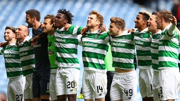Campeão antecipado, Celtic faz 5 a 1 no rival Rangers e segue invicto no Escocês