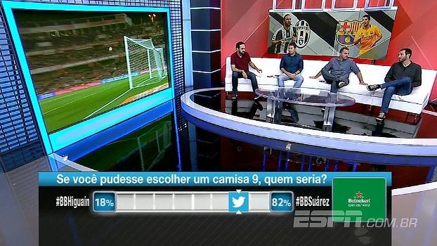 Higuain ou Suárez? BB Bom Dia analisa desempenho de atacantes e projetam duelo pela Champions
