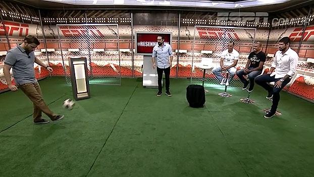 No 'Resenha ESPN', André Plihal tenta cumprir 'desafio do Telê'