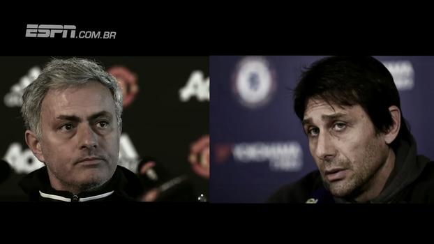 Mourinho provoca, Conte responde: 'Ele se preocupa muito com o Chelsea. Tem que pensar no time dele'