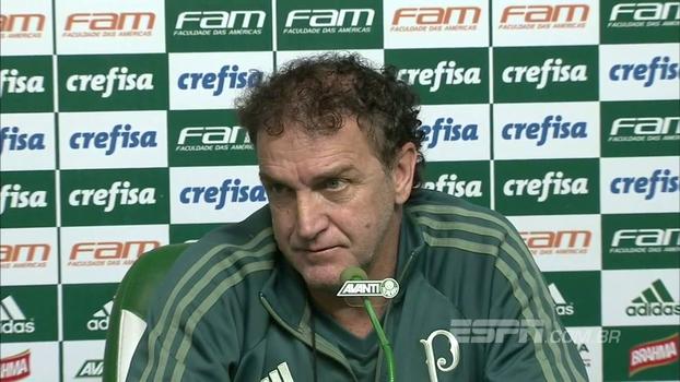 Cuca volta a falar de Felipe Melo: 'Tinha que ser feito e ponto final'