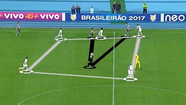 Mauro destaca virtudes do Botafogo no 3 a 1 sobre o Vasco e detalha o 1º gol com o DataESPN