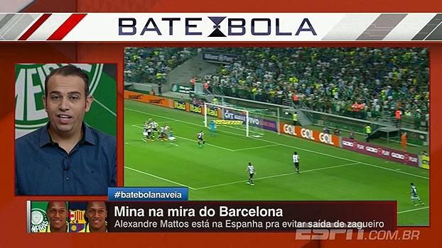 Edu de Meneses atualiza situação de Mina e negociações com o Barcelona