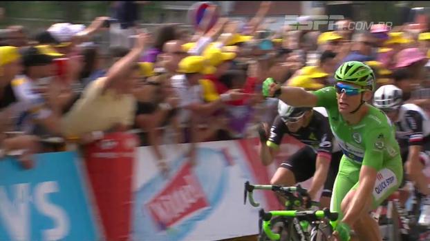 Marcelo Kittel vence etapa pela 5ª vez e lidera Tour de France por pontos