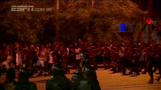 'Parecia guerra; foi um horror'; testemunhas relatam cenas de briga de torcedores na final da Sul-Americana