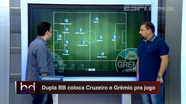 Bertozzi e Alê colocam Cruzeiro e Grêmio no campinho para o duelo dessa noite