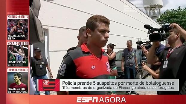 Polícia prende 5 suspeitos da torcida organizada do Flamengo pela morte de botafoguense; veja
