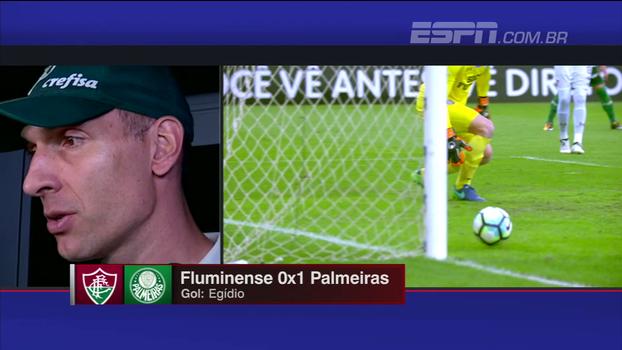 Prass prefere não falar sobre processo de renovação e comenta evolução do Palmeiras