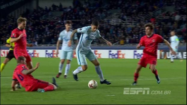 Assista aos gols da vitória do Zenit sobre o Real Sociedad por 3 a 1!