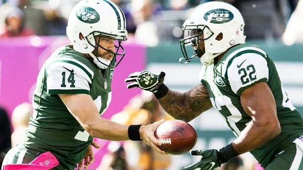 Fitzpatrick e Forte comandam vitória de virada dos Jets sobre os Ravens
