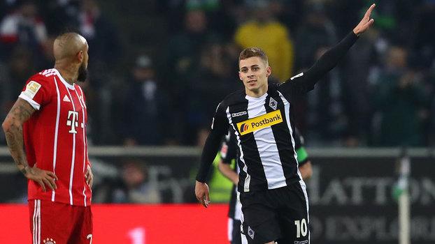 Veja os gols de Borussia M'Gladbach 2 x 1 Bayern de Munique