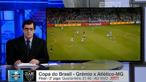 878409f879 Antero vê Atlético-MG atacando o Grêmio na decisão e pede   Jogo limpo