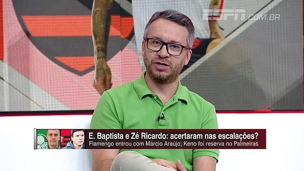 Para Maurício Barros, críticas a Márcio Araújo são exageradas: 'Jogador importante para ter no elenc