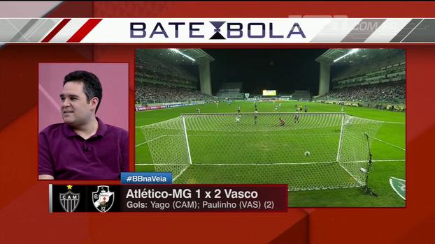 Bertozzi lembra que Paulinho é o primeiro jogador 2000 a marcar no Brasileiro e critica a diretoria do Atlético-MG
