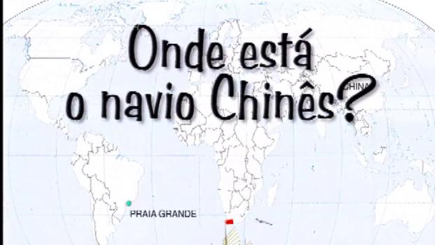 Quem viu? Há 10 anos, Mendel Bydlowski procurava navio chinês, que sumiu com equipamentos de ginástica