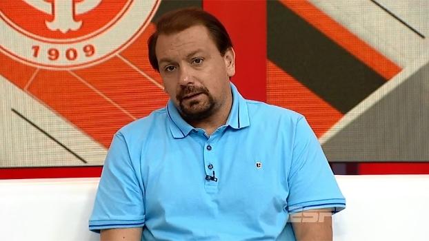 Alê elogia D'Alessandro, mas diz que salário do argentino é muito alto para a realidade da Série B