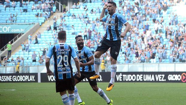 Veja os gols da vitória por 5 a 0 do Grêmio sobre o Sport