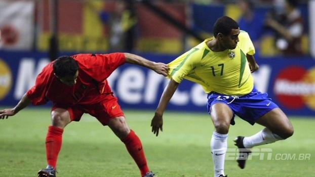 Felipão conta o que pediu para Denílson antes de jogo contra Turquia