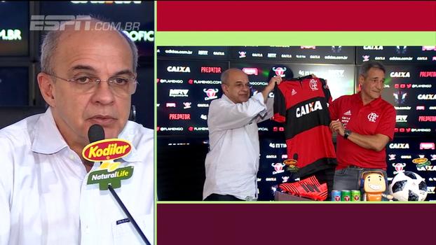 Presidente do Flamengo explica o que aconteceu no 'caso Rueda'