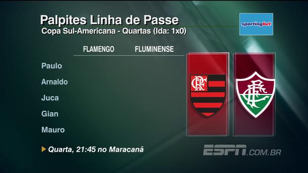 Grêmio, Fla x Flu e Sport: veja os palpites do 'Linha de Passe' para os jogos desta semana