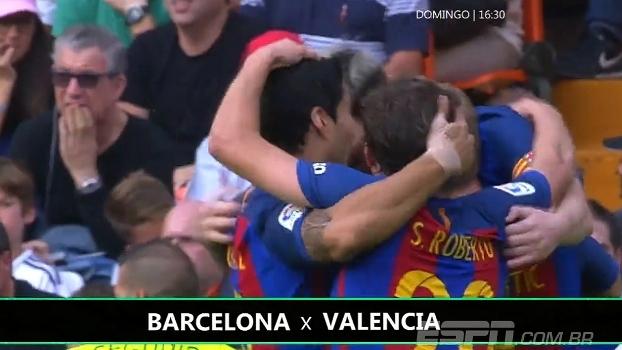 Messi maior carrasco e quebra de sequência sem vitória: confira as curiosidades de Valencia e Barça
