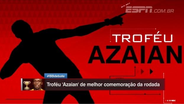 Borja, Thiago Heleno ou Guerrero? Quem leva o Troféu 'Azaian' da nona rodada?