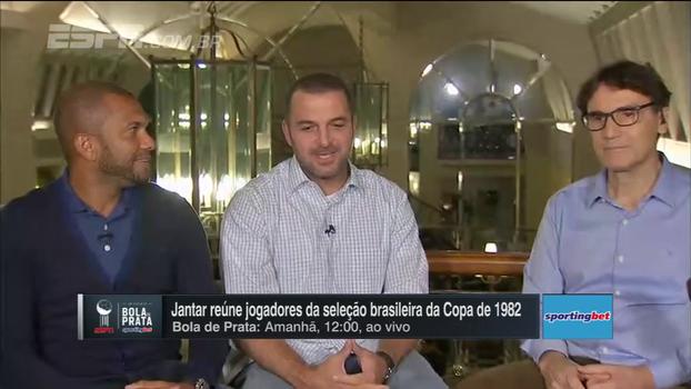 Amoroso, Zé Elias e Oscar participam do 'Resenha' e Zé se emociona com história inédita com Cerezo: 'Coisa de pai e filho'