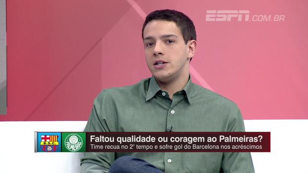 Rafael Oliveira analisa dois tempos distintos do Palmeiras e vê jogo de volta complicado