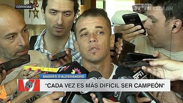 Perto do fim do empréstimo com River Plate, D'Alessandro afirma estar voltando para Internacional