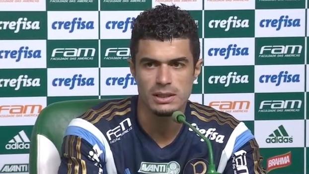 Egídio vê lado positivo em tempo sem jogos do Palmeiras: 'Vamos ganhar muito para o Brasileiro'