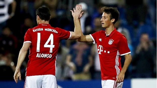 Bayern de Munique goleia o AS Eupen em amistoso com 2 gols de Fabian Benko, promessa de 18 anos
