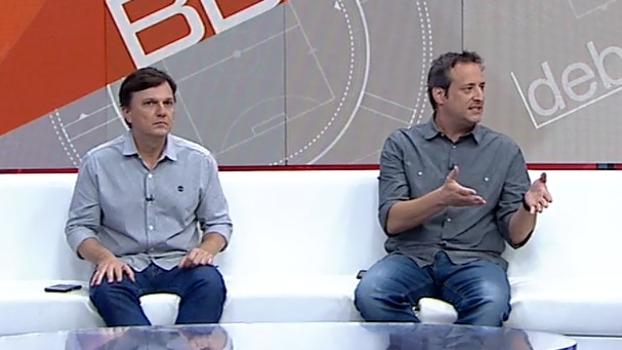 Mauro e Gian divergem sobre modo de uso da arbitragem de vídeo; veja