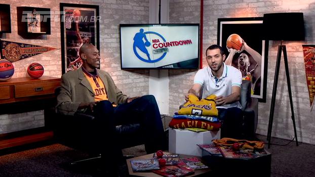 Treino contra Kobe Bryant e análise dos Spurs sem Kawhi Leonard no 'NBA Countdown Brasil'
