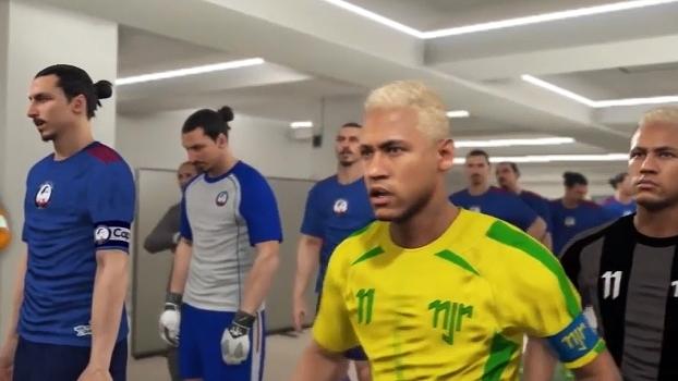 O que aconteceria se 11 Ibrahimovics enfrentassem 11 Neymares? Descubra