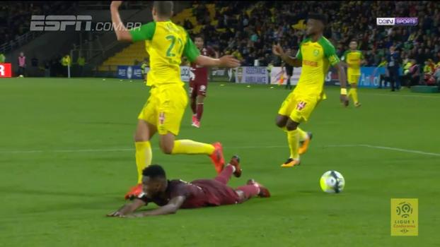 Nantes vence lanterna e entra na zona de classificação para a Champions League